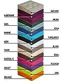 Coussin de sol garni - 50 x 50 cm - 100 % coton