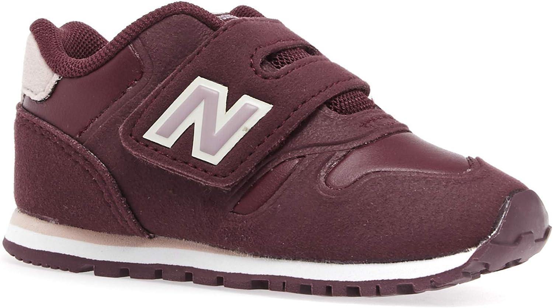 New Balance Infant 373 Velcro Kids Shoes 18.5 EU Burgundy: Amazon ...