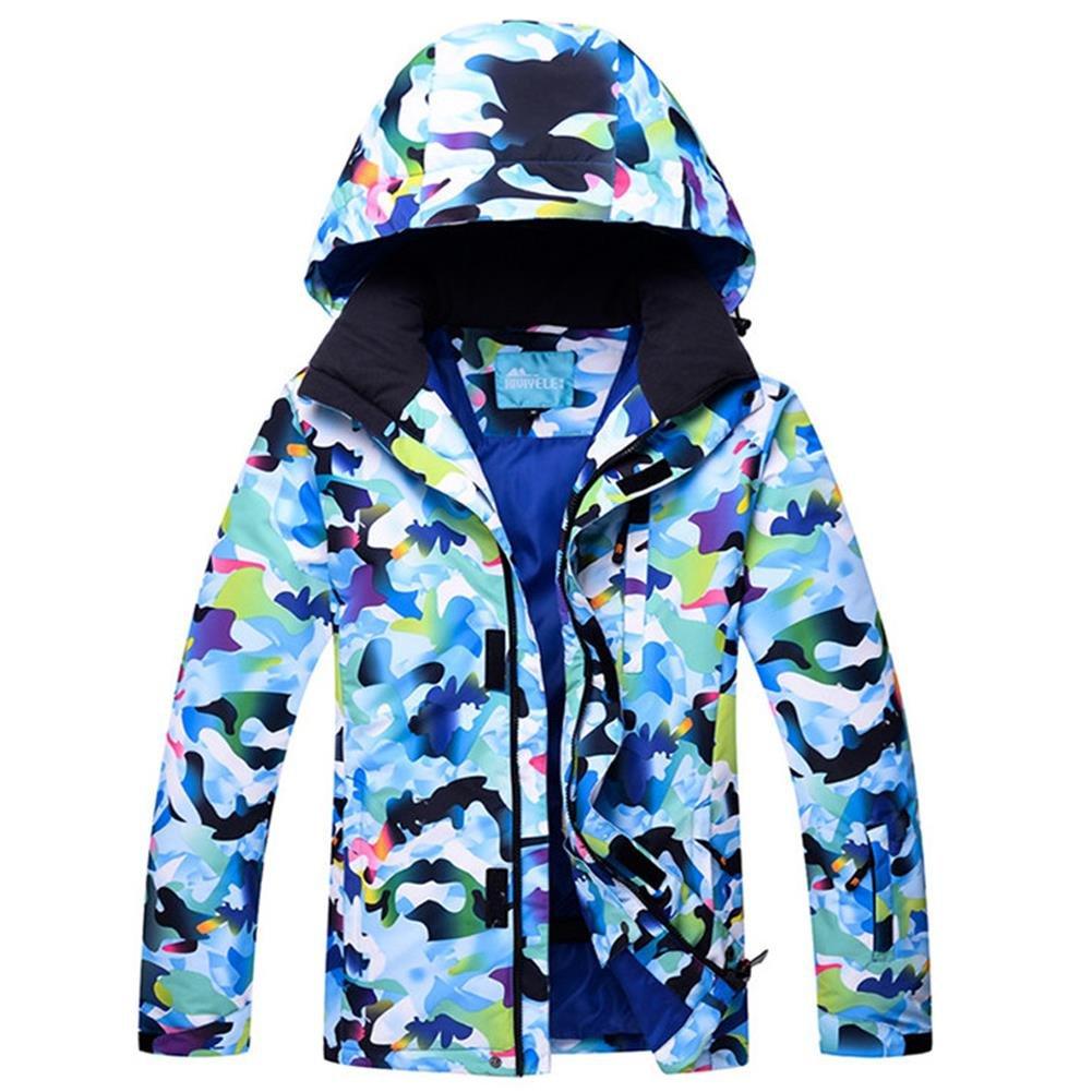Mens Corlorful Ski Jackets Wear Waterproof Windproof Snowboard Pant Ski Suits