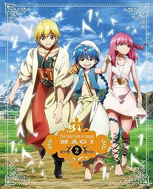 マギ The labyrinth of magic DVD
