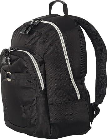 Amazon.com  Fortress Manhattan Backpack - Black - OS  Clothing 003373cb05da4