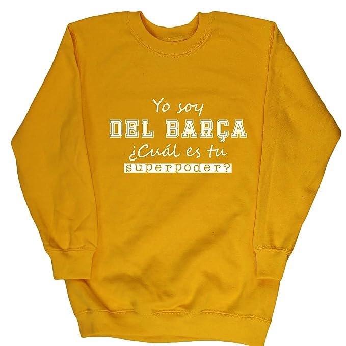 HippoWarehouse Soy del Barça, ¿Cuál es tu Superpoder? jersey sudadera suéter derportiva unisex niños niñas: Amazon.es: Ropa y accesorios