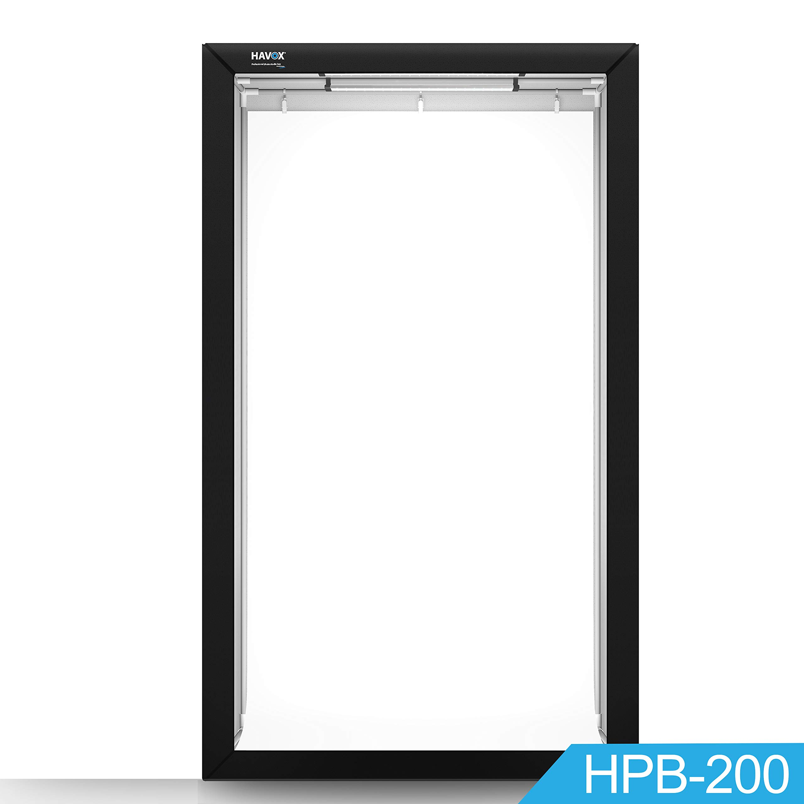 HAVOX - Photo Booth HPB-200 -Dimension 47''x32''x78'' - Super Bright LED Lighting 5500k - CRI 93 - Make Your Commercial Photos e-Commerce by HAVOX