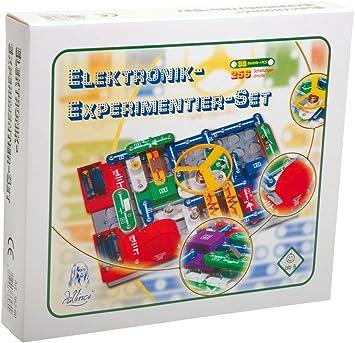 DaVinci - Juego de experimentos electrónicos: Amazon.es: Juguetes y juegos