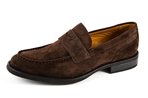 Vagabond VB-319-4461-040 - Mocasines de Cuero para Hombre Marrón Marrón 4461-040, Color Marrón, Talla 42 EU: Amazon.es: Zapatos y complementos