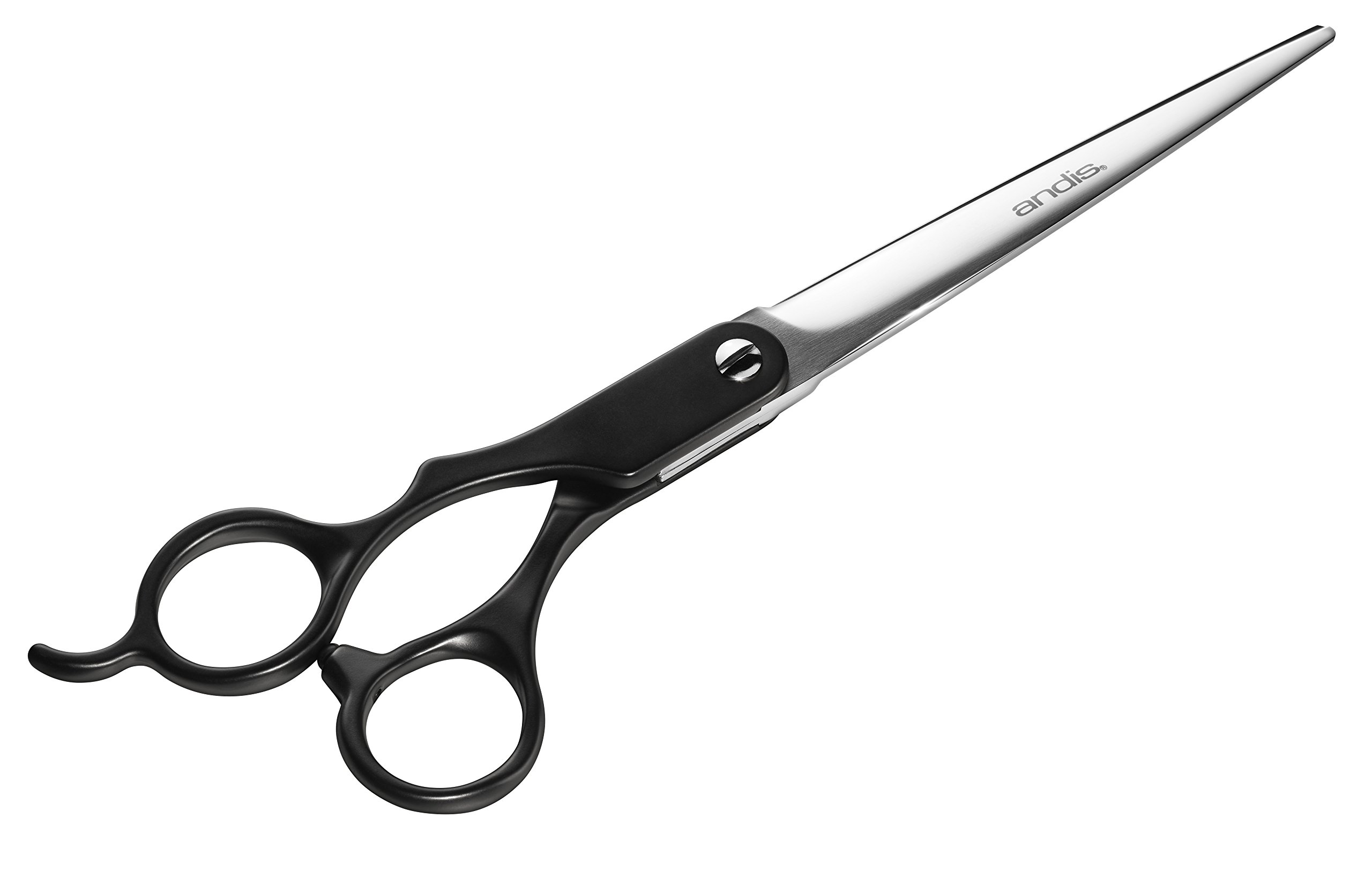 Andis 8'' Straight Shears, Left-Handed, Professional Dog and Cat Grooming (80630)