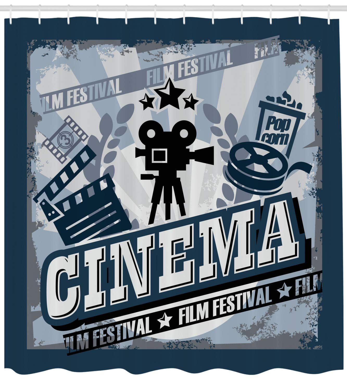 ABAKUHAUS Cine Cortina de Baño, Cartel De La Vendimia ...