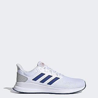 adidas Men's RunFalcon Running Shoe White/Collegiate Royal/Active Red 9.5 M US