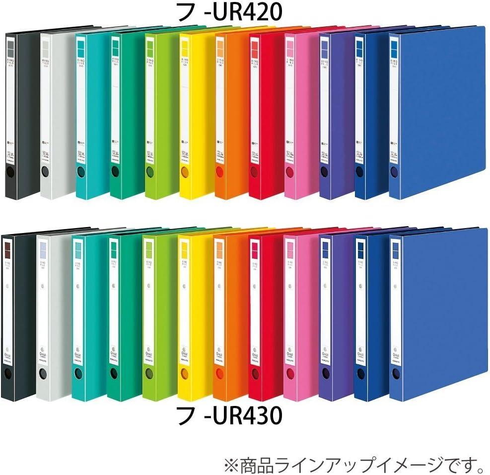 Kokuyo ring file ER A4 back width 28mm pink off UR420NP