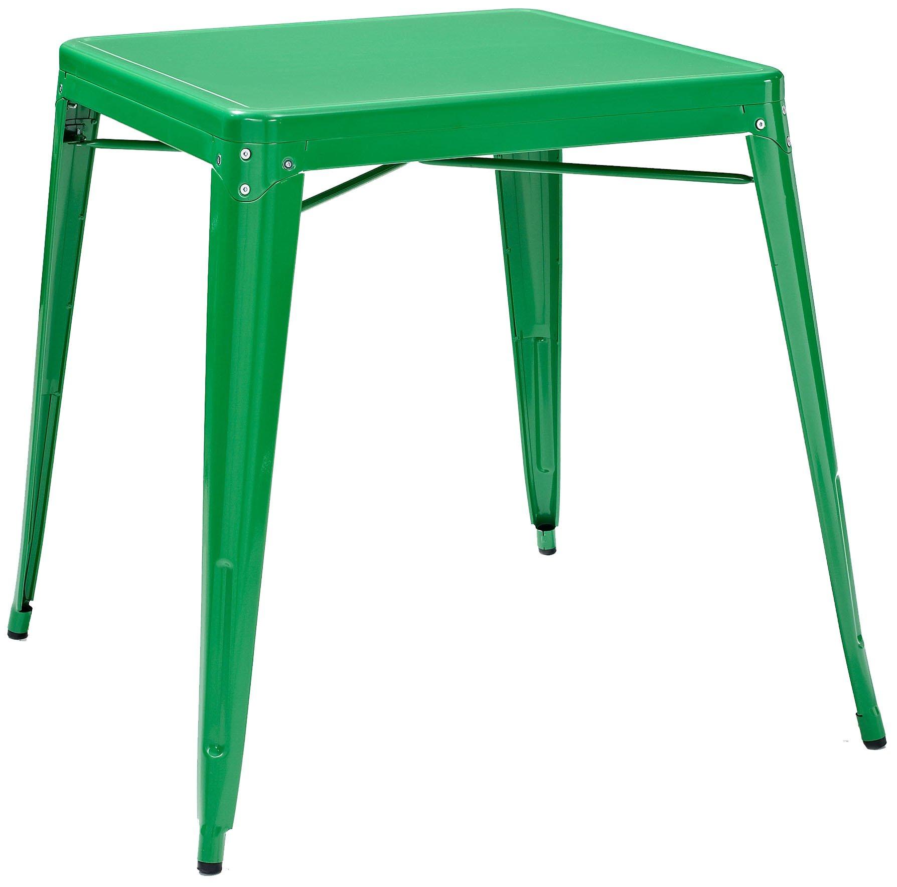 Crosley Furniture Amelia 30-inch Metal Cafe Table - Green