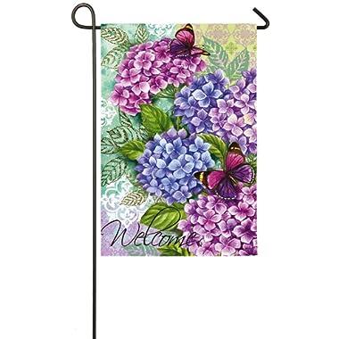 Beautiful Hydrangeas Garden Flag