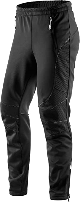 2020 Mountain Bike Invernale Uomo ciclismo pantaloni antivento e Caldo Outdoor Pantaloni Ciclismo