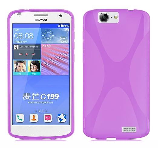 31 opinioni per Cadorabo- Custodia silicone TPU X-Line Design per Huawei ASCEND G7 (C199)- Case