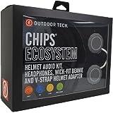 KETCL - Outdoor Tech OT0552 Rugged Wireless Exoskeleton, Wick-Fit Beanie, K-Roo Pouch Helmet Audio kit, Multi