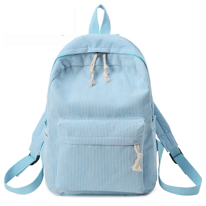 Amazon.com   Kavard Backpack Women Nylon Backpack Softback Solid Bag Handle mochilas Rucksack School Bag for girls, Beige   Backpacks