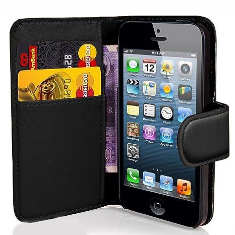 Funda de Cuero Piel para Smartphone Apple iPhone 4 / 4S. Diseño ...