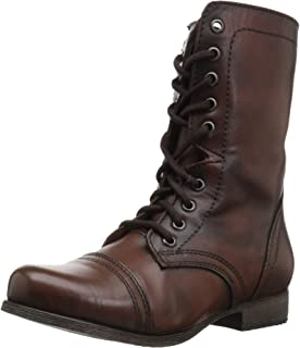 5ae1f5eac93 Amazon.com | Steve Madden Women's Troopa 2.0 Combat Boot | Ankle ...