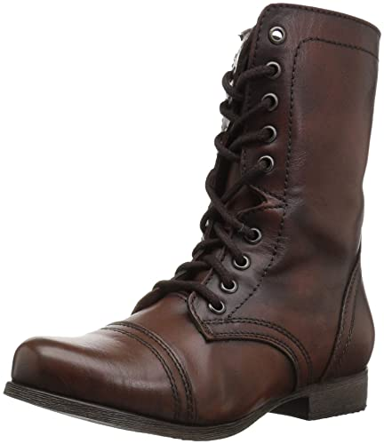 64f905a1b72 Steve Madden Women s Troopa Lace-Up Boot