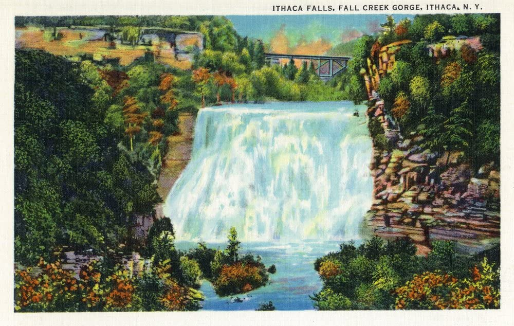 fall creek gorge ithaca