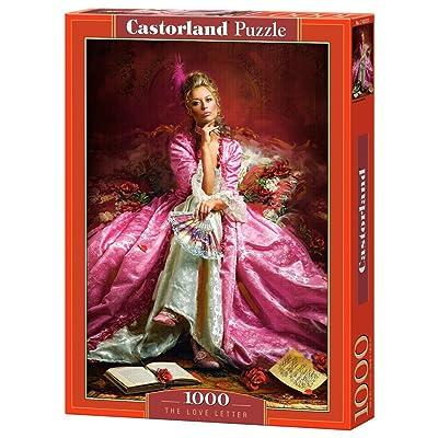 Castorland Puzzle nbsp;-«La Lettre D'amour» (1000 Pièces, Multicolore).