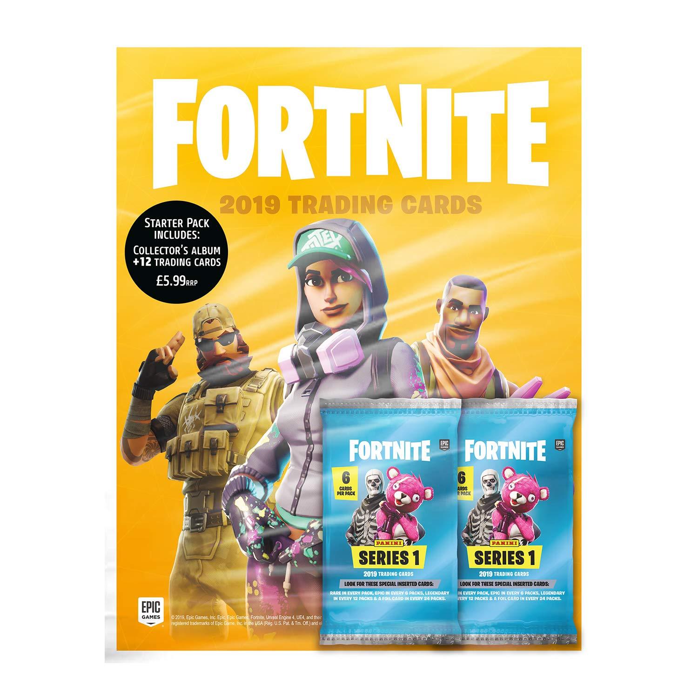 12 packs 2019 Panini Fortnite Series 1 Trading Cards 12 packs 36 cards