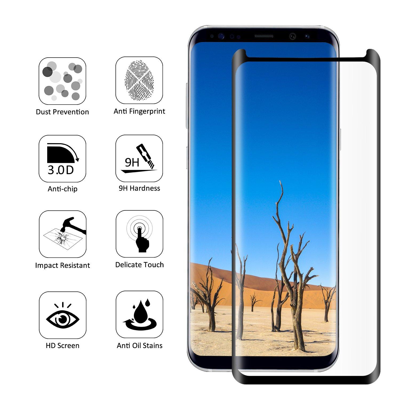 Panzerglas Samsung Galaxy S8 SURWELL samsung galaxy Amazon Elektronik