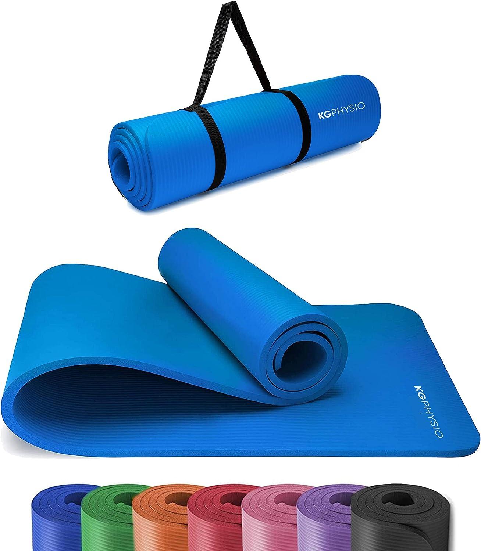Tappetino Morbido Rigato Fitness Antiscivolo Per Palestra Yoga Aerobica Casa