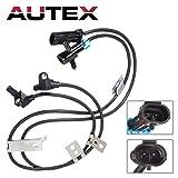 AUTEX 2PC Front Left & Right ABS Wheel Speed Sensor