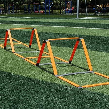 Escalera de velocidad Escalera de Agilidad Velocidad de Fútbol y Baloncesto de 11 de Escalón de Alta Intensidad de Juego de Pies de Velocidad Unisex y Equipo de Entrenamiento: Amazon.es: Hogar