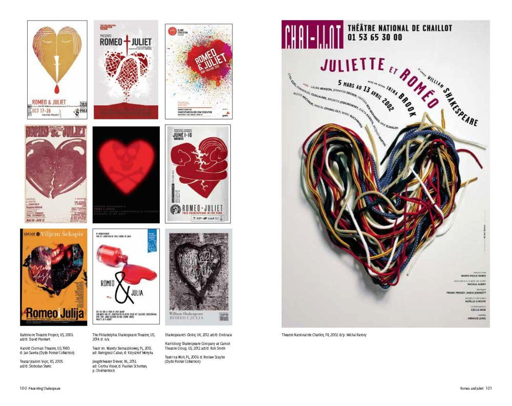 Design poster win8 - Presenting Shakespeare 1 100 Posters From Around The World Mirko Ilic Steven Heller Julie Taymor 9781616892920 Amazon Com Books