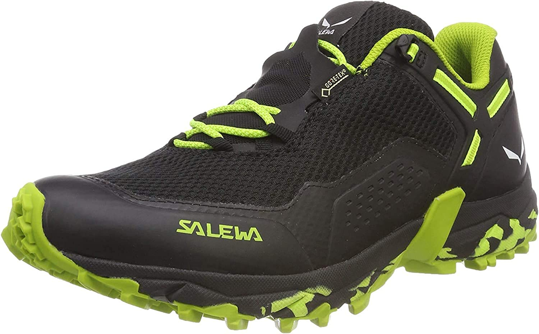 Salewa Herren Ms Speed Beat GTX Traillaufschuhe Schwarz Black Out Fluo Yellow 978