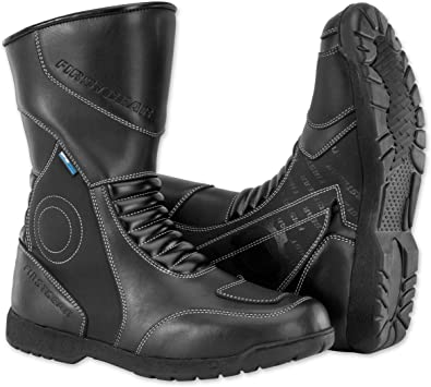 Firstgear Mens Kili Hi Motorcycle Boots Black 10