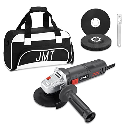 Zeroomade 4-1 2-inch Angle Grinder 7.5AMP 12000RPM With 2pcs Wheels Cuting wheels and Abrasive wheels And a Tool bag 7.5A, grey