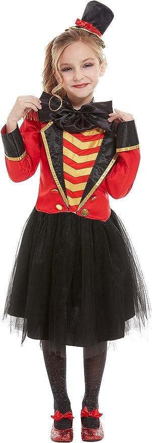 Halloweenia Disfraz de Director de Circo para niña,, Chaqueta ...