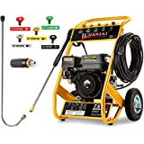 Wilks Genuine USA TX625 Petrol Pressure Washer - 8.0HP 3950psi / 272Bar