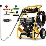 Wilks Genuine USA TX625 Petrol Pressure Washer - 8.0HP 3950psi/272Bar
