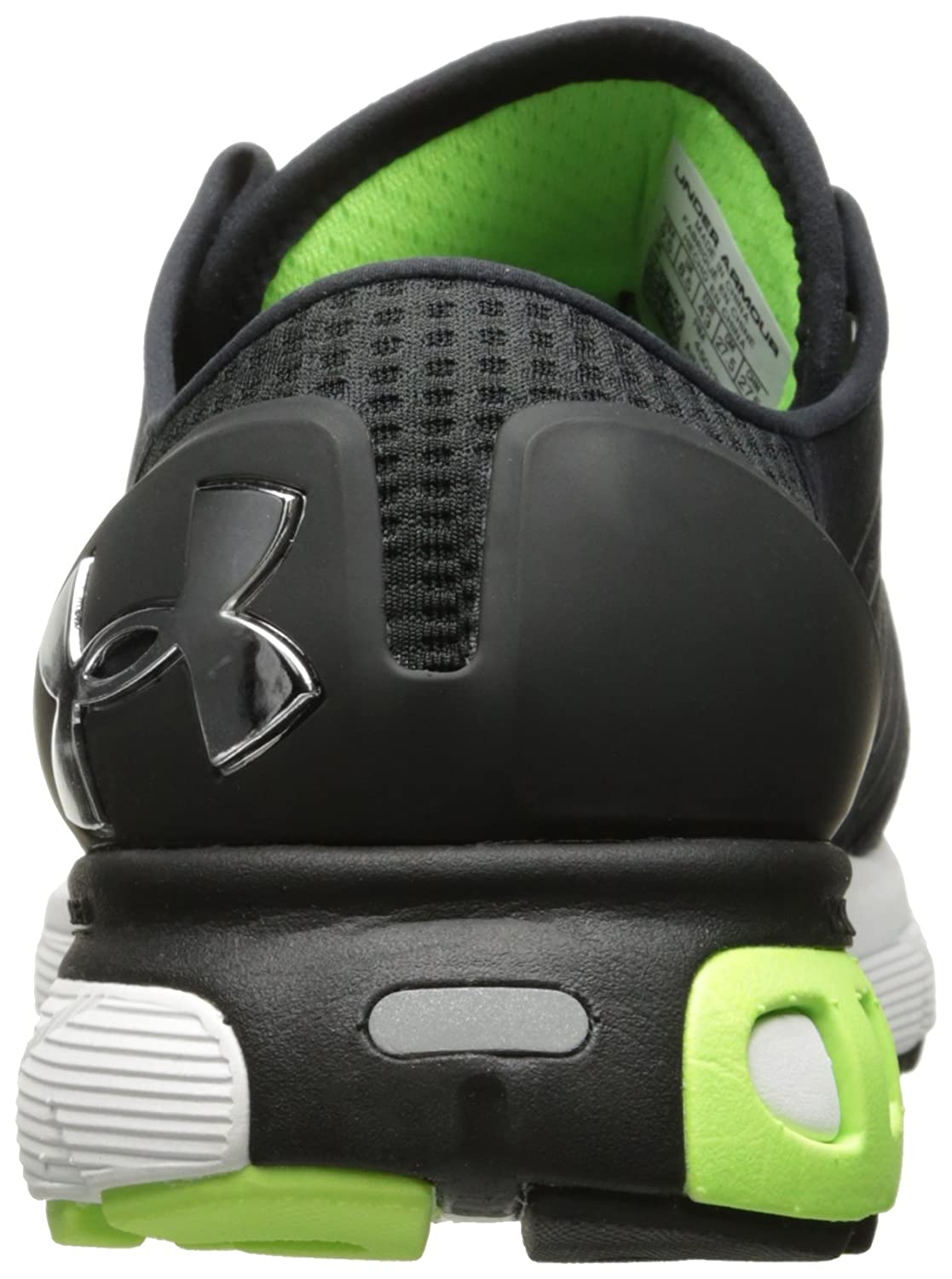 Under Armour Men's Speedform Europa 2E, 2E, 2E, schwarz Quirky Lime Chrome, 9 2E US 1d3c7c