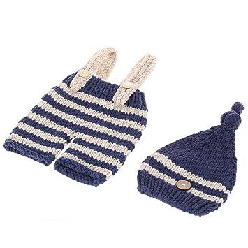 Andoer - suave adorable Crochet tejer Gorra Para Hombre Photo ...