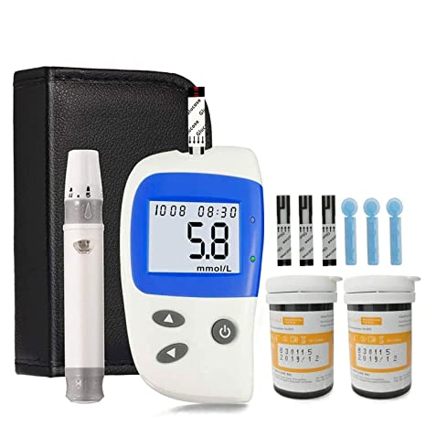 reloj de monitoreo de glucosa en diabetes