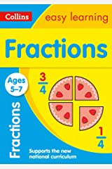 Fractions Ages 5-7: Prepare for school with easy home learning (Collins Easy Learning KS1) Kindle Edition