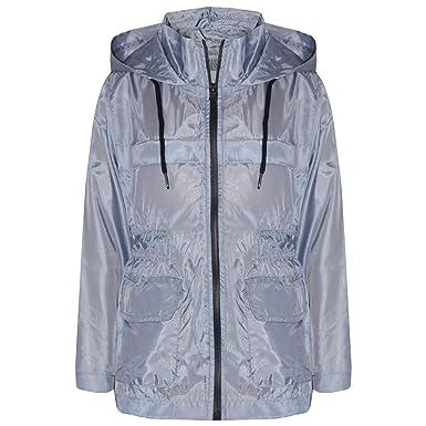 A2Z 4 Kids/® Girls Boys Raincoats Jackets Kids Mustard Light Weight Waterproof Kagool Hooded Jacket Cagoule Rain Mac Thin Coats New Age 5 6 7 8 9 10 11 12 13 Years