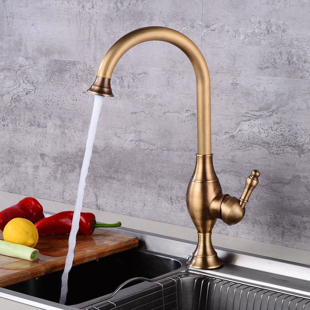 Gyps Faucet Basin Mixer Tap Waterfall Faucet Antique Bathroom  Kitchen faucet antique copper cold water faucet dish washing basin sink antique faucet single handle one hole 葫 Reed Taps