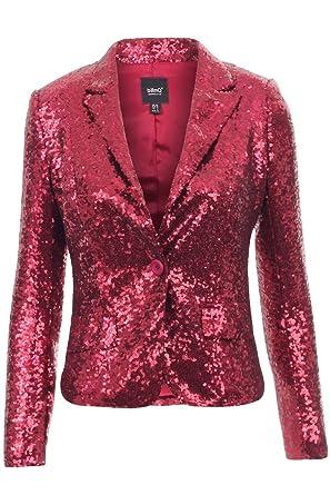 29ecd72a8b3 BlinQ Red Sequin Blazer
