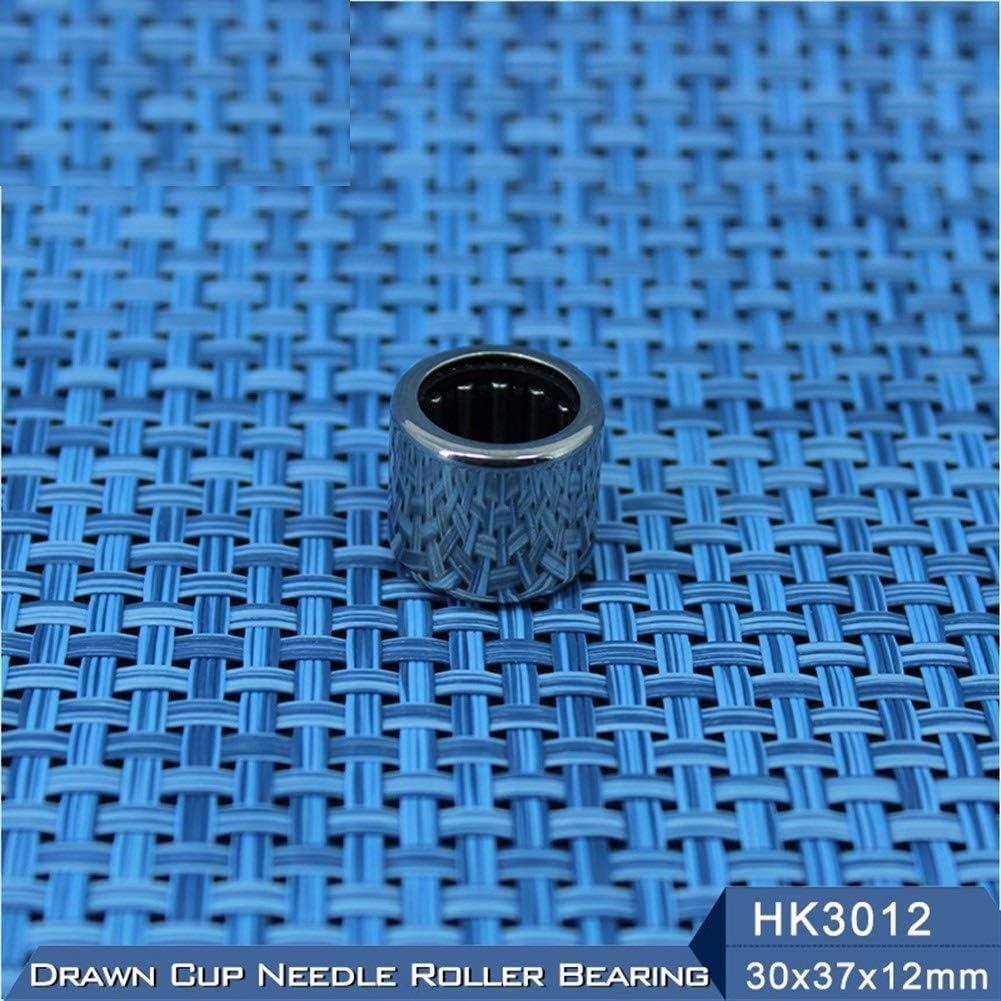 5 Pcs HK3012 Needle Bearings 303712 mm Drawn Cup Needle Roller Bearing TLA3012Z HK303712 27941//30 WUXUN-ZHOU