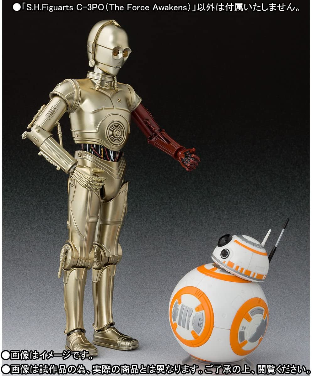 The Force Awakens 3 PO Star Wars//Awakening of The Force H Bandai S Figuarts C