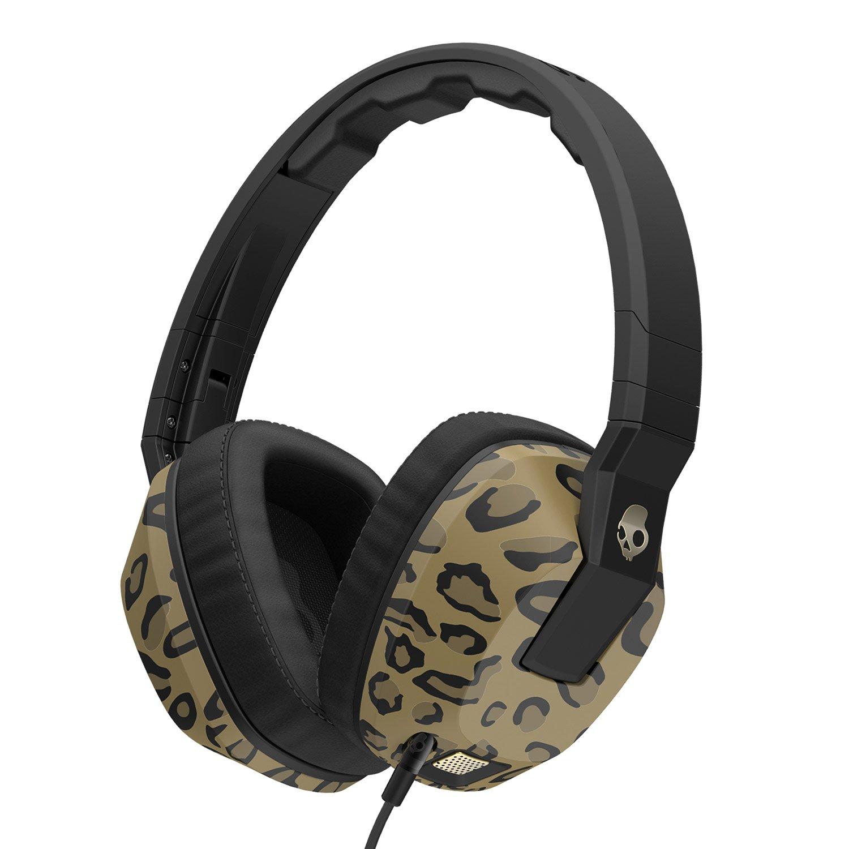 Auriculares Skullcandy Crusher con Built-in Amplificador y Mic Leopard