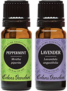 Edens Garden Lavender & Peppermint Essential Oil, 100% Pure Therapeutic Grade (Highest Quality Aromatherapy Oils), 10 ml Value Pack