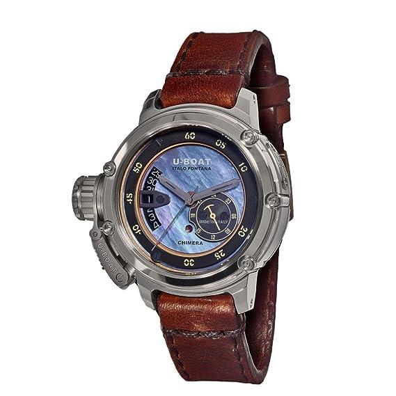 Reloj Automático U-Boat Chimera, Madreperla, 43mm, Edición Limitada, 8099