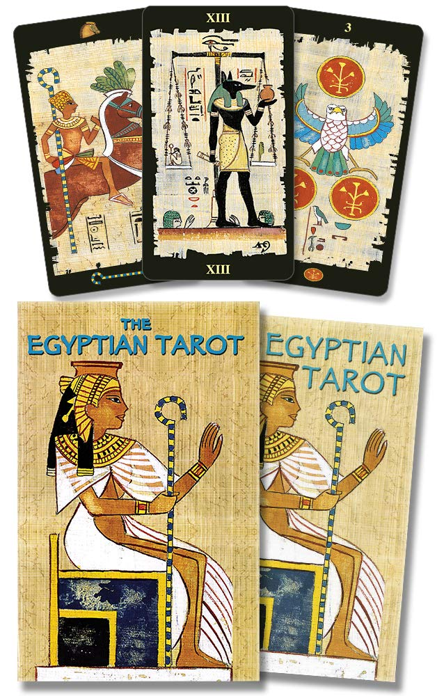 The Egyptian Tarot Cards Kit: Amazon.es: Lo Scarabeo: Libros ...