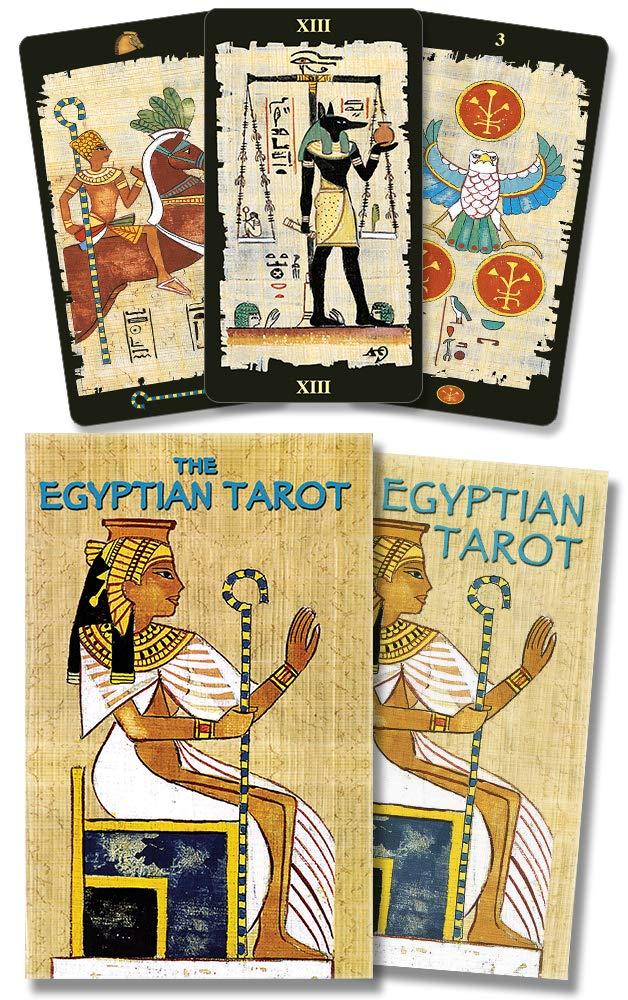 The Egyptian Tarot Cards Kit: Amazon.es: Lo Scarabeo: Libros ...